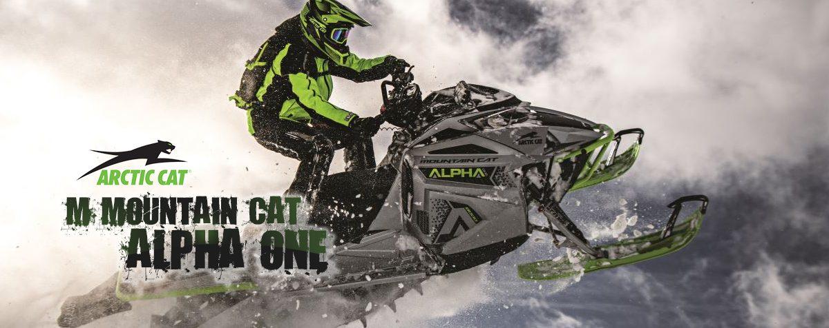 Motoneige Arctic Cat M 8000 Mountain Cat Alpha One 2020